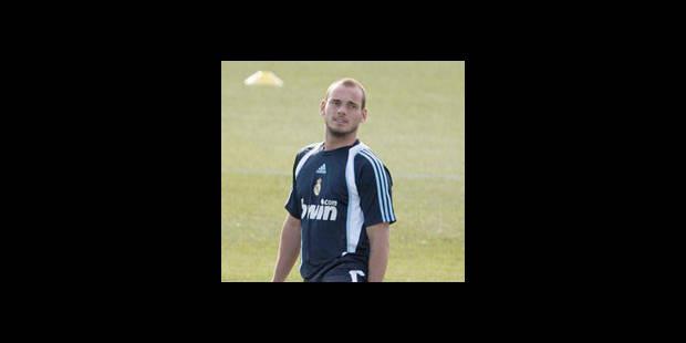 Sneijder refuse toujours de quitter le Real Madrid - La DH