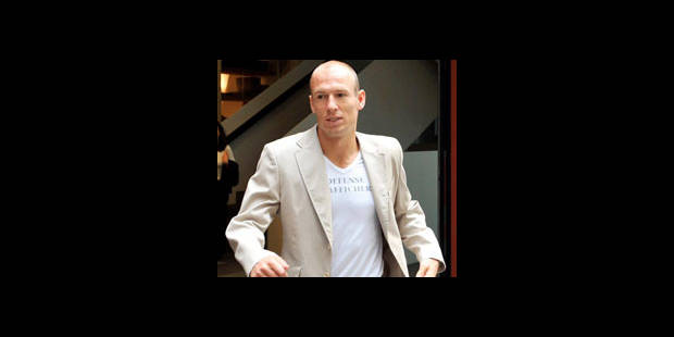 Arjen Robben a signé pour 4 ans au Bayern - La DH