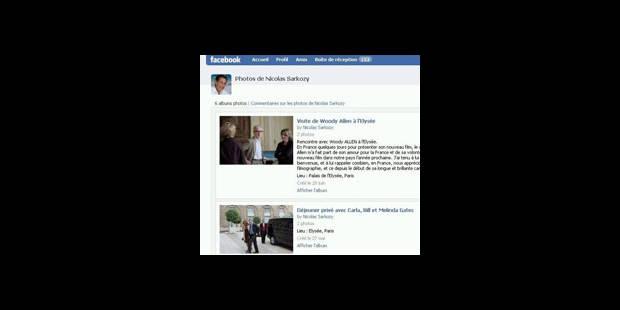 Sarko sur Facebook ! - La DH