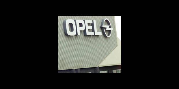 Opel s'éloigne d'Anvers - La DH