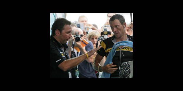 Bruyneel surprend Contador - La DH