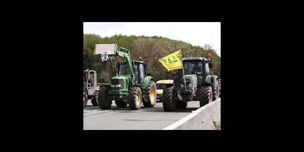 Manifestation des agriculteurs : les blocages levés et le trafic reprend - La DH