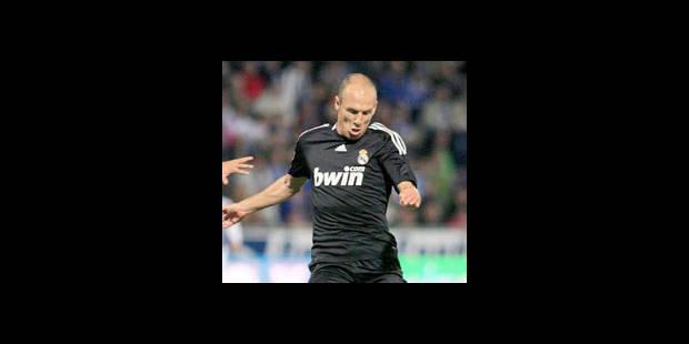 Robben absent pour deux à trois semaines - La DH