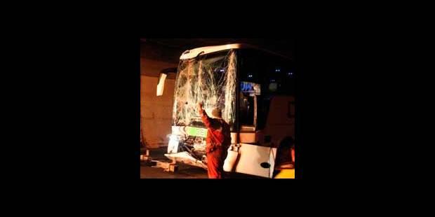 Bus belge accidenté en Autriche - La DH