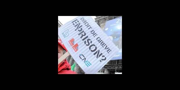 Grève: La justice donne raison à Carrefour - La DH