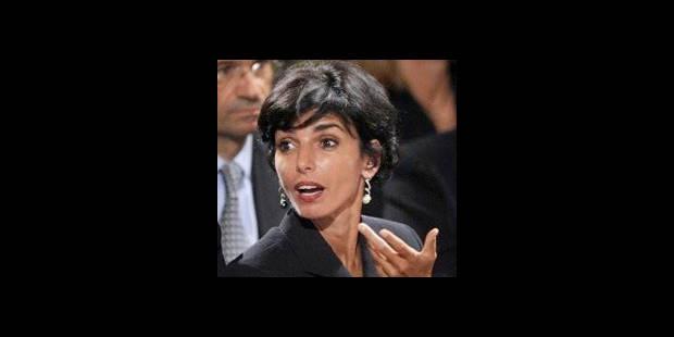 Rachida Dati  virée par le président - La DH