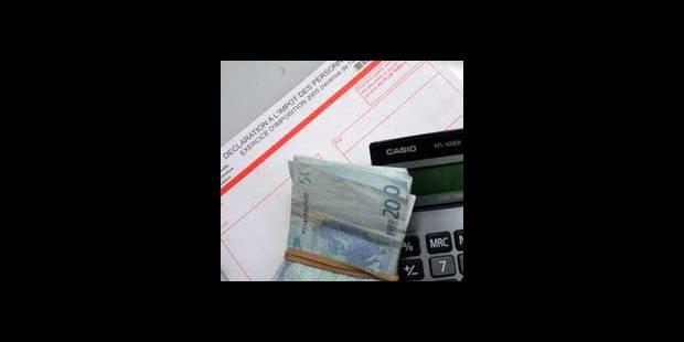 Déclaration fiscale: plus de 10% des Belges mauvais élèves - La DH