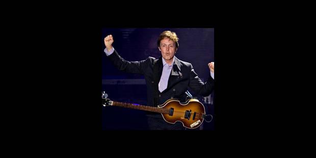 Des milliers de fans pour le concert gratuit de McCartney à Québec - La DH