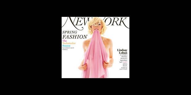 Lindsay Lohan se met à nu - La DH