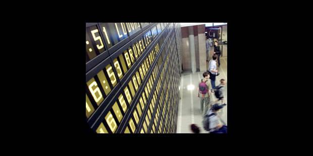 Les trains de plus en plus en retard - La DH
