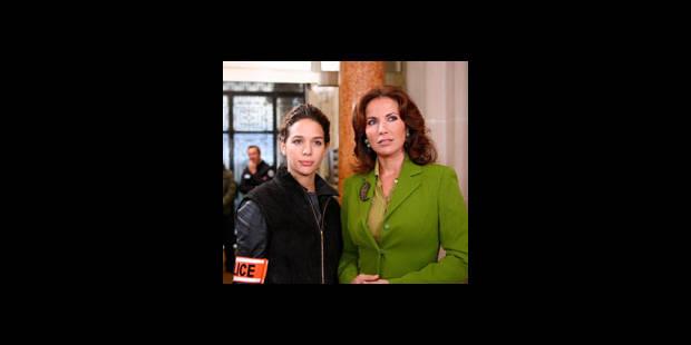 Natacha Amal sans Ingrid Chauvin - La DH