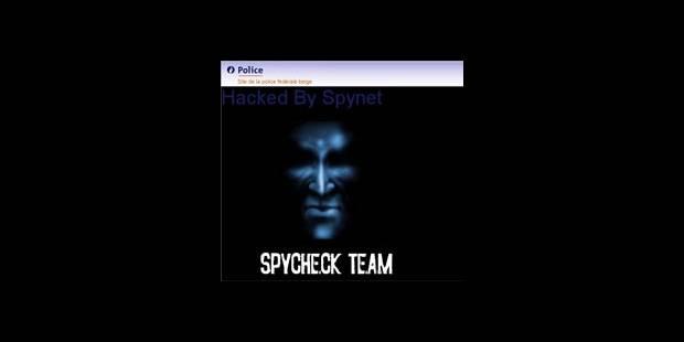 Le site de la police piraté! - La DH