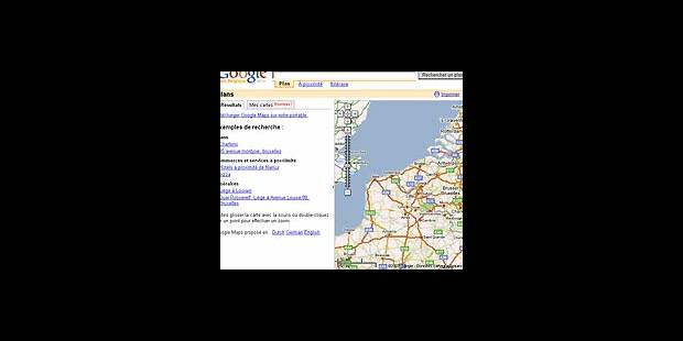 Google Maps Belgique - La DH