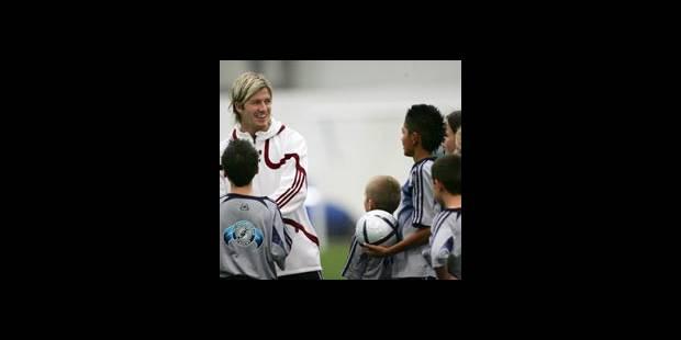 David Beckham inaugure sa football academy - La DH