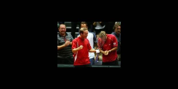 Coupe Davis: Belgique - USA 1-1 - La DH