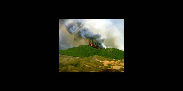 Incendies aux Canaries - La DH