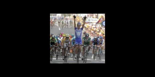 Un superbe Tom Boonen - La DH