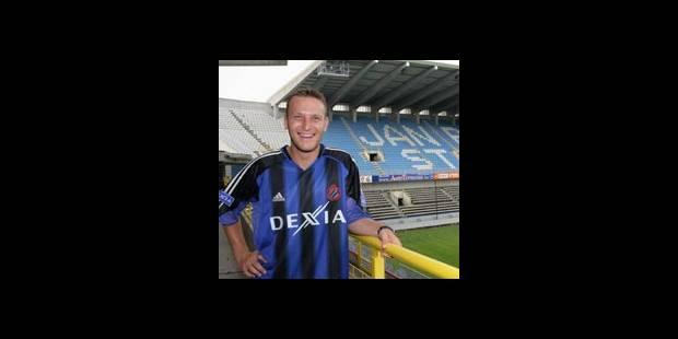 Grégory Dufer quatre ans au FC Bruges - La DH