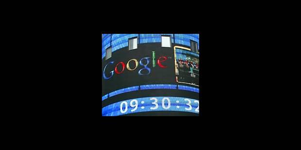 Google passe le cap du Nasdaq - La DH