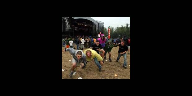 Festival Pukkelpop - Chantons sous la pluie - La DH