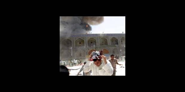 Irak: terrible attentat à Najaf - La DH