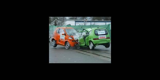 Les mini-voitures sous le choc - La DH