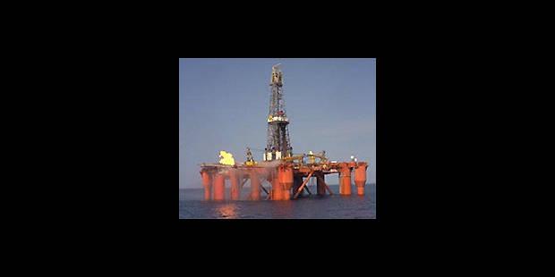 Mer du Nord:  une plate-forme pétrolière à la dérive - La DH