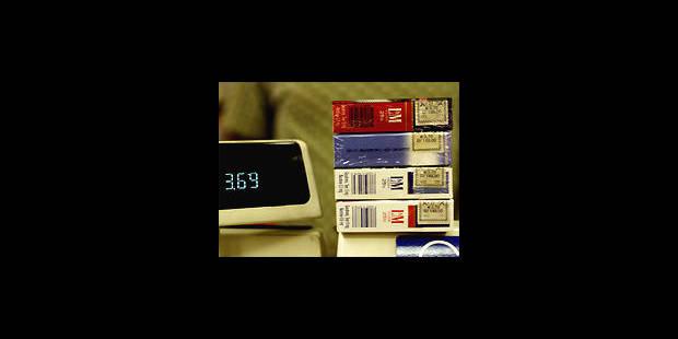 Cigarettes € plus chères - La DH
