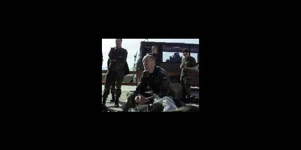 Départ des soldats belges - La DH