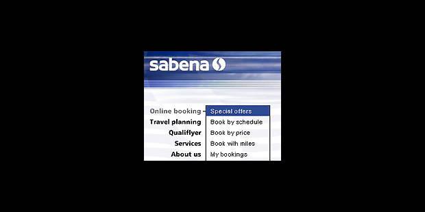 Sabena: la vente on-line en bout de piste - La DH