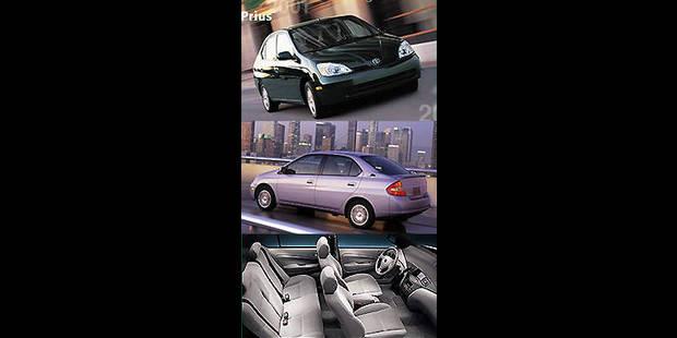 Les cotes de la DH - Toyota Prius Hybrid - La DH