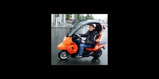 Essai exclusif du C1, le scooter de BMW - La DH