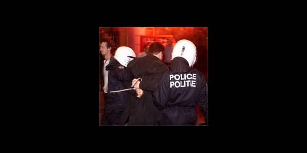 Incidents à Bruxelles: la police sur la défensive - La DH
