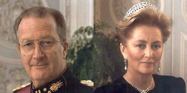 On vole les portraits de Paola et Albert II - La DH