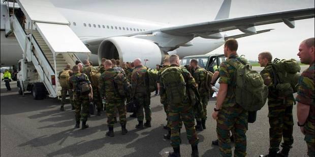 Une cinquantaine de militaires belges en route pour le Mali - La DH