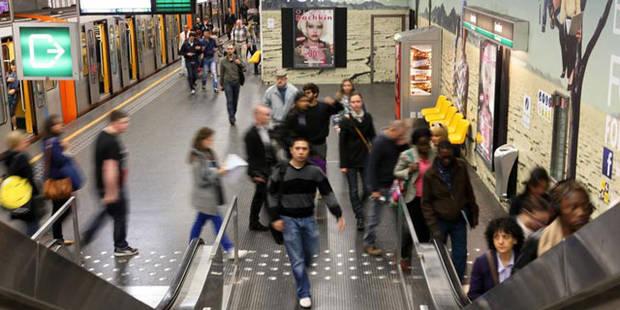 Donnez votre avis sur les stations du métro bruxellois - La DH