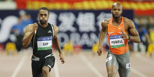 Tyson Gay et Asafa Powell contrôlés positifs - La DH