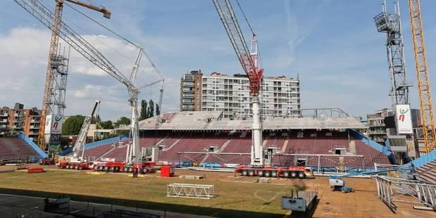 Le Stade du Pays de Charleroi sera prêt pour la reprise du championnat - La DH