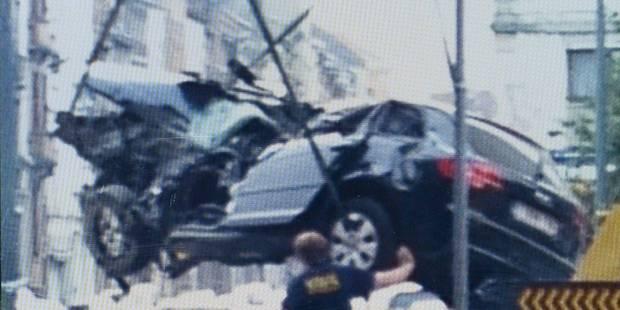 Dramatique crash à Anderlecht: un mort et trois blessés graves - La DH