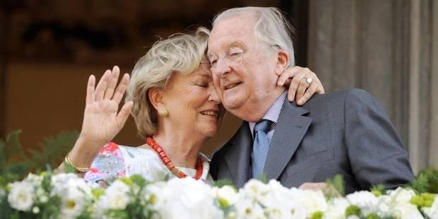"""Chaleureuse """"joyeuse sortie"""" pour le couple royal en larmes à Liège - La DH"""