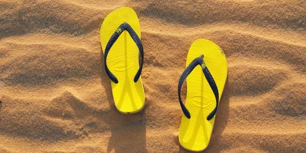 Des tongs en été? Attention à vos pieds! - La DH