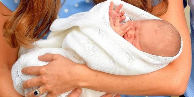 La Reine rend visite à son premier arrière-petit-fils - La DH