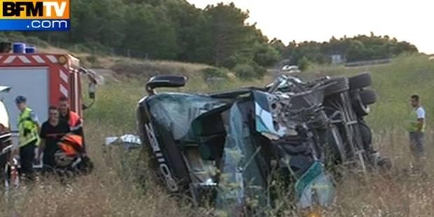 France: 2 morts et 30 blessés dans un accident de car Eurolines - La DH