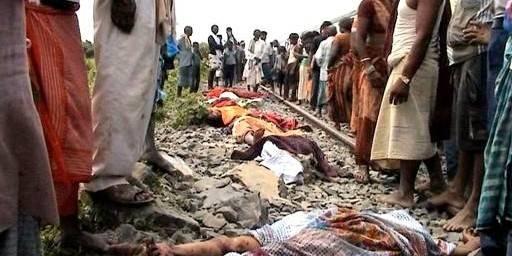 Inde: un train écrase 37 personnes - La DH