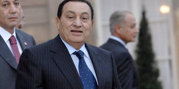 Egypte: Moubarak est sorti de prison - La DH