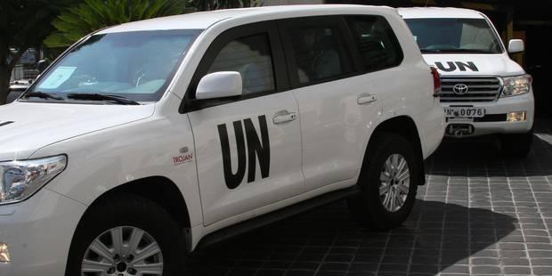Des enquêteurs de l'ONU visés en Syrie, Damas accuse les rebelles - La DH