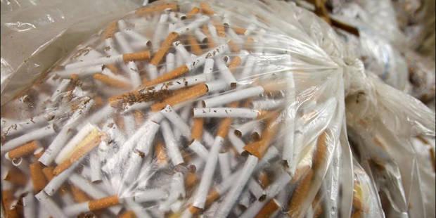 Saisie de près de 800.000 cigarettes de contrebande ! - La DH
