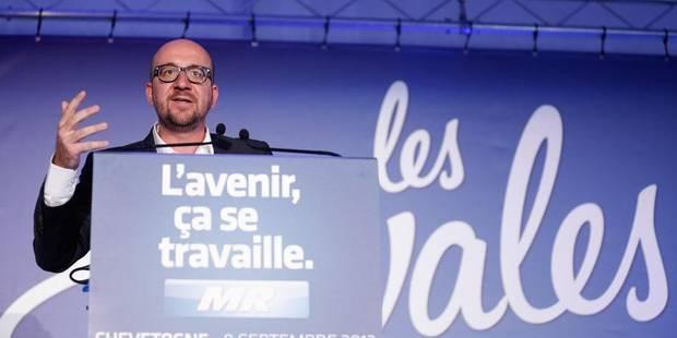 """Charles Michel dénonce les """"promesses en l'air"""" de la majorité - La DH"""
