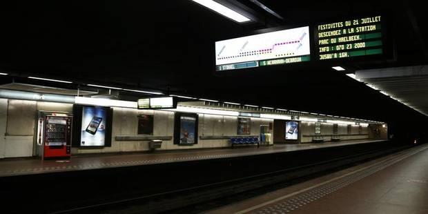 Stib : la circulation des métros au ralenti suite à l'agression d'un conducteur ! - La DH