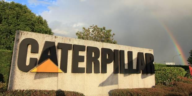 Caterpillar: début des négociations autour du plan social - La DH